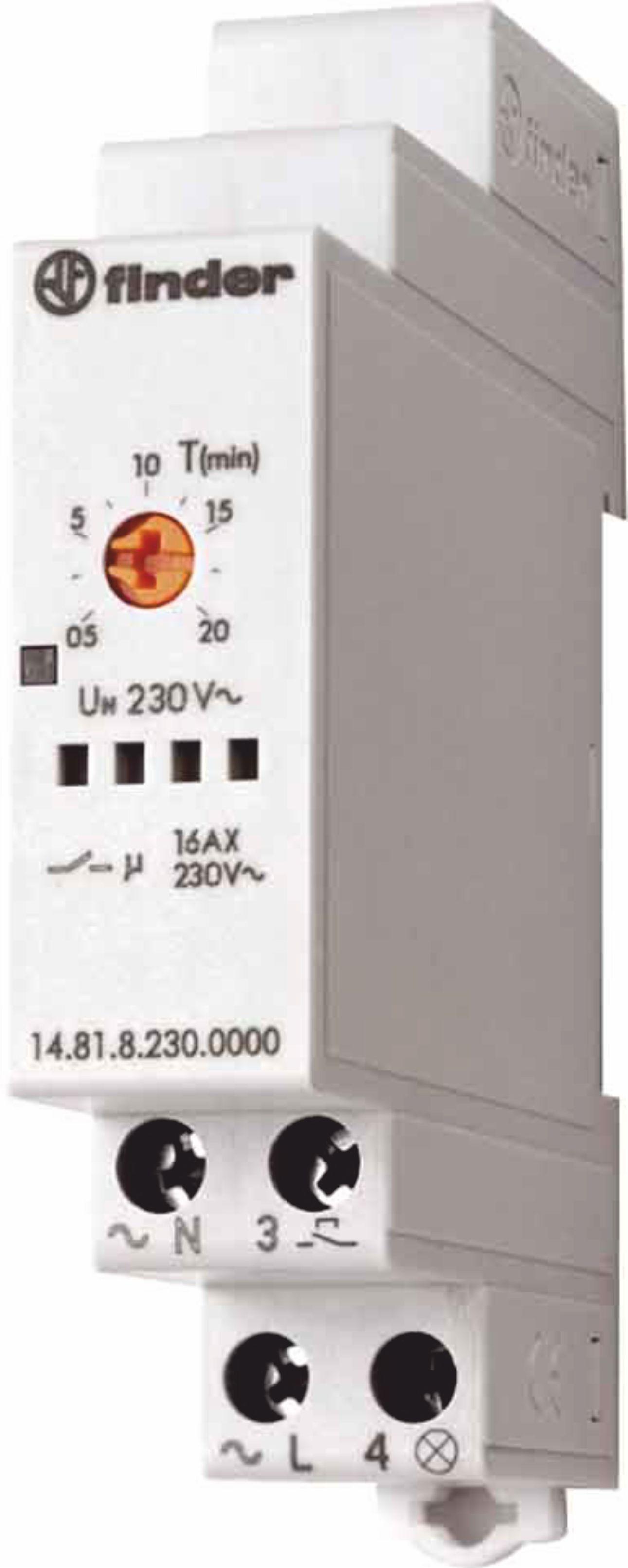 Finder 0269012 adattatore per relè passo passo serie 26 alimentazione 12V DC